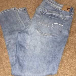 American Eagle Super super stretch skinny jeans 16